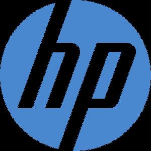 HP logotipas